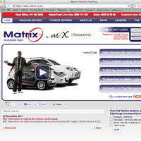 Matrix Vehicle Tracking